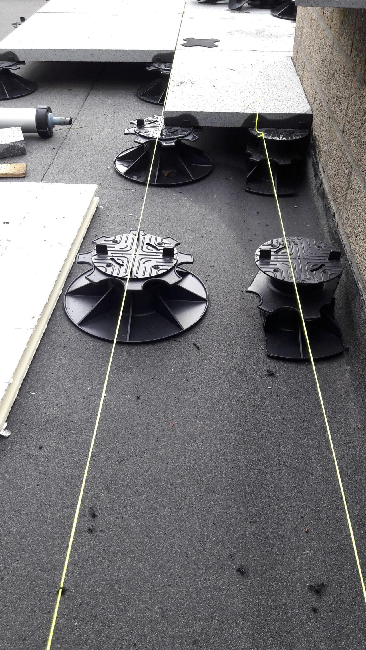 Terras betontegels project in Gullegem2