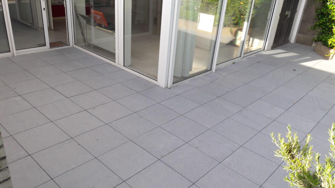 Terras betontegels project in Gullegem3