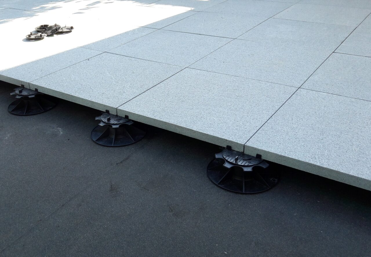 Terras betontegels project in Gullegem5